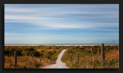 Pad naar Zee Schiermonnikoog - Path towards the sea