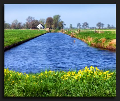 Schilderachtig Jonkersvaart - Painterly Rural Landscape with Water Netherlands